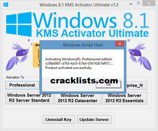 Windows 8.1 Pro KMS Activator Ultimate 1.4 free