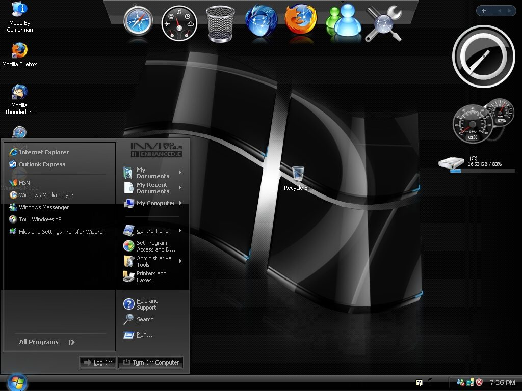 Windows Xp Black Edition SP3