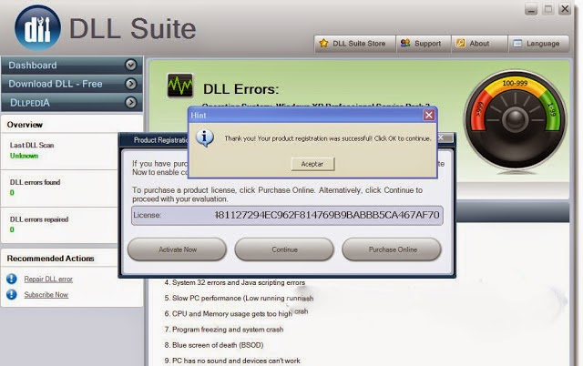 DLL Suite 2014 License Key