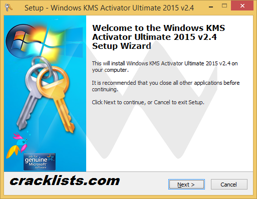 KMS Activator Ultimate 2015 windows