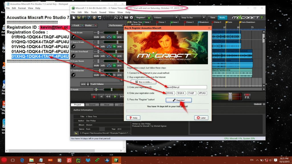Mixcraft 7 Activation Key Full Crack Serial Key Activator