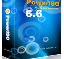 PowerISO 6.6 Key
