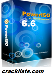 PowerISO 6.6 Key
