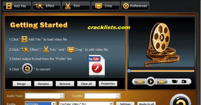 Tipard Video Converter Ultimate 9.0.16 Crack