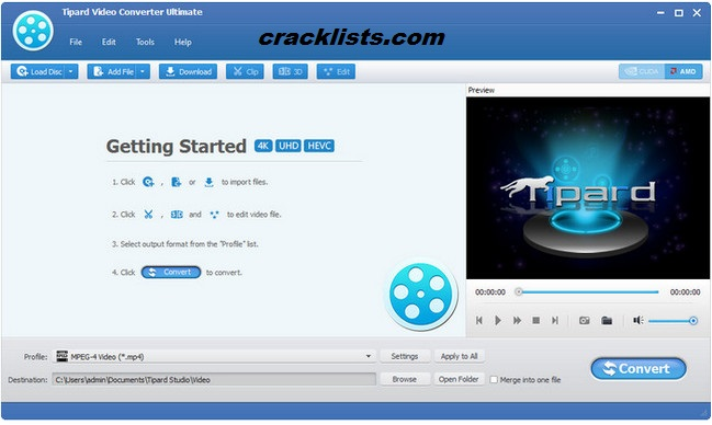 Tipard Video Converter Ultimate 9.0.16 key