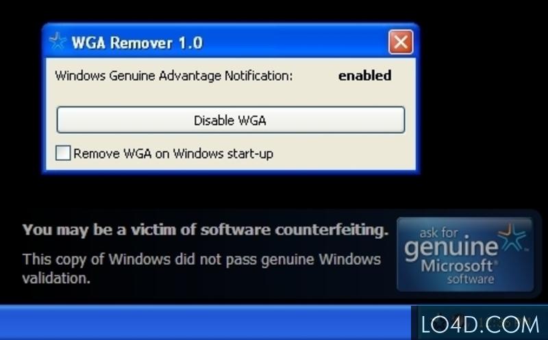 WGA Remove Windows 7 Ultimate Download