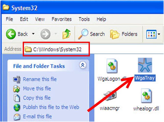 WGA Remove Windows 7