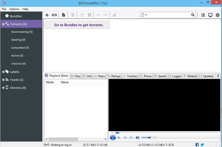 BitTorrent Pro v7.9.5 build 41373