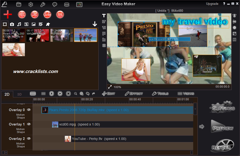 Easy Video Maker 5.26 Crack with Serial Number