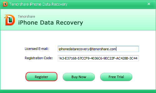 Tenorshare Iphone Data Recovery Crack With Registration