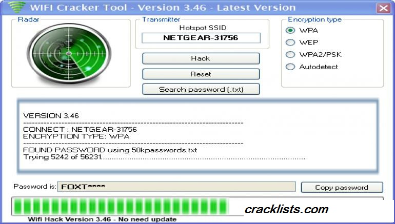 Free wifi password crack software | Free WiFi Password
