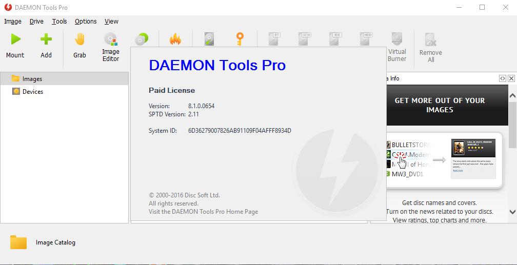 daemon tools pro 5 serial key