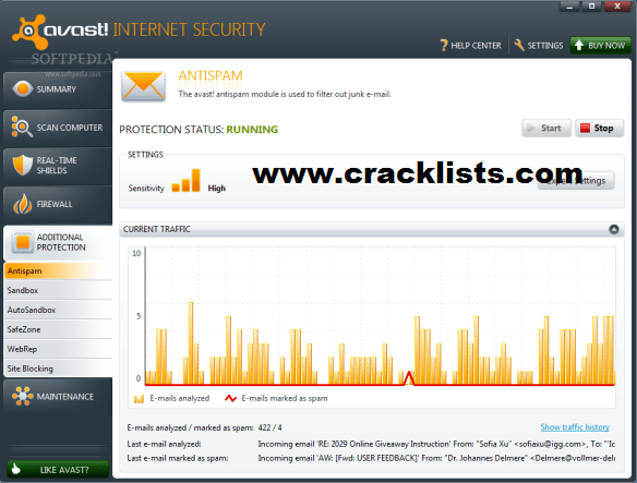 Avast Free Antivirus 18 Activation Code plus Crack Download