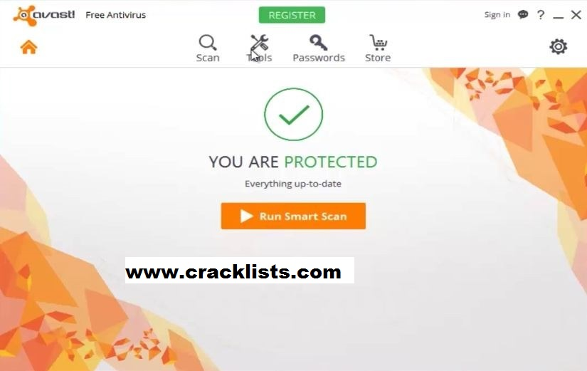 Avast Free Antivirus 18 Activation Code plus Crack