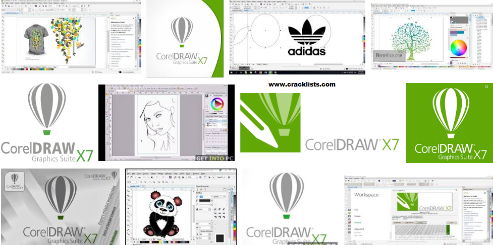 Corel Draw X7 Keygen plus Serial Number Free Download