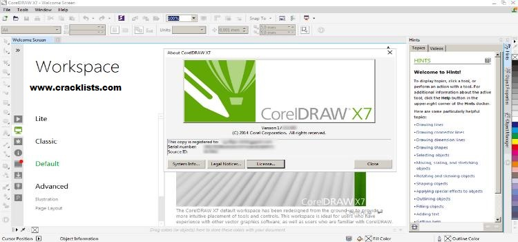Corel Draw X7 Keygen