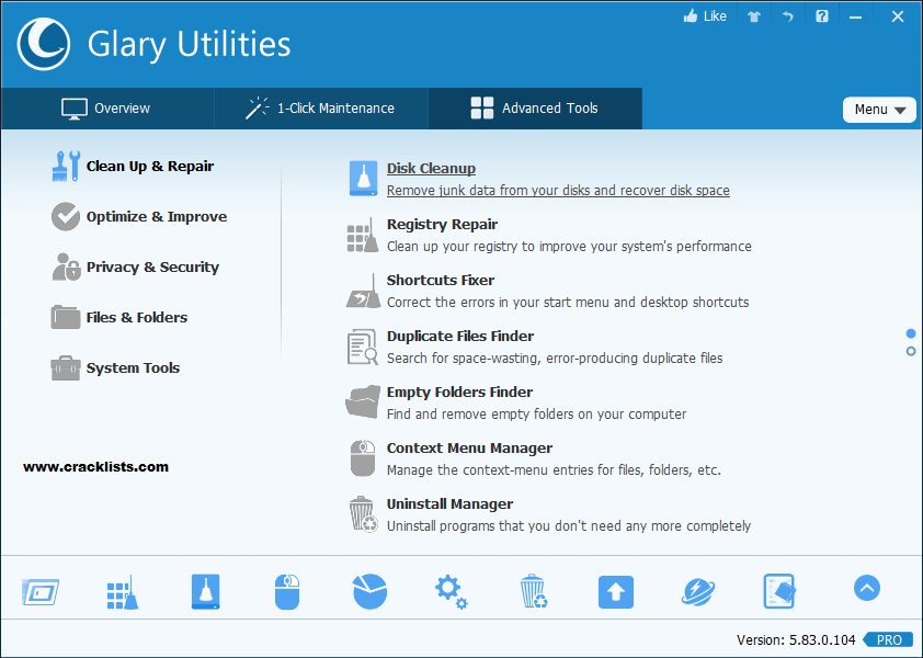 Glary Utilities Pro Key 2018 plus Registration Code