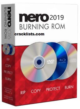 Nero Burning Rom 2019 Crack plus Keygen Free Download 2019 Updated