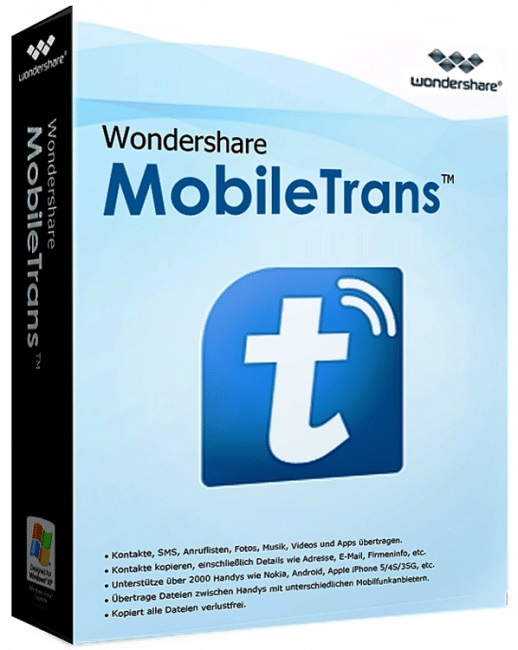 Wondershare MobileTrans 8.1.0 Crack Full Keygen Free Torrent